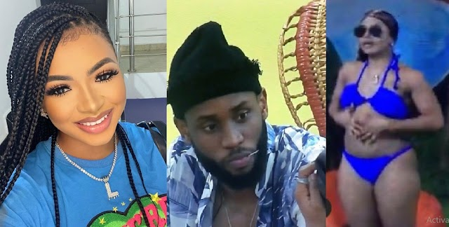 """#BBNaija: """"i want you to Fvck me"""" - Drunk Liquorose wants to R*pe Emmanuel After Jacuzzi Party [Video]"""