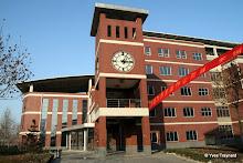 Nouveau campus : horloge
