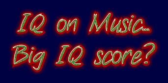IQ and music