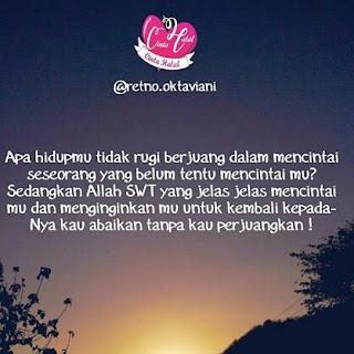 kata cinta islami menyentuh hati