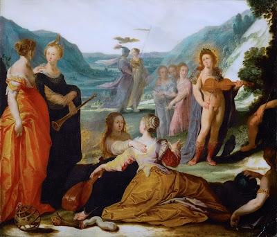 Bartholomeus Spranger - Apollo und die Musen