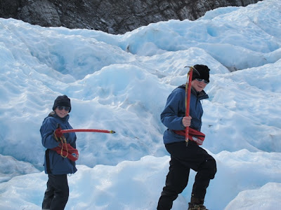 hiking the Franz Josef Glacier