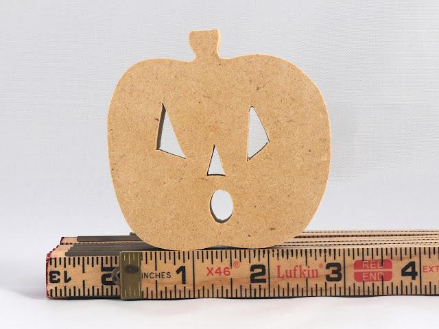 Handmade Halloween Jack-O-Lantern Made From MDFMDF