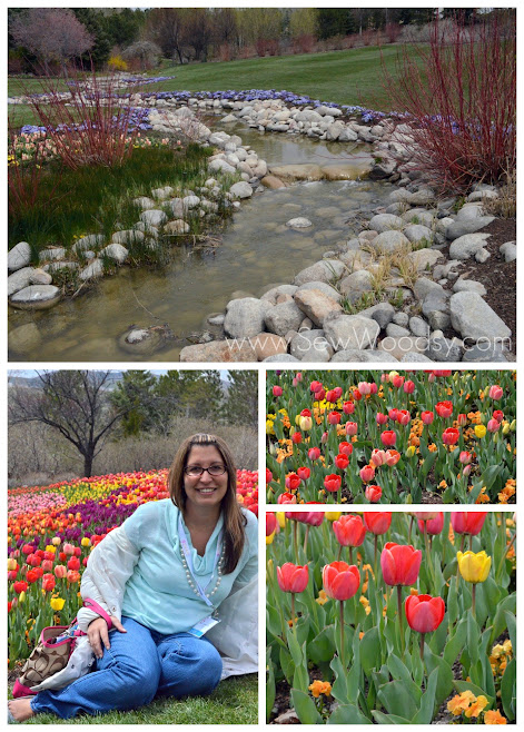 Tulip Festival, Lehi Utah - Thanksgiving Point Gardens via SewWoodsy.com