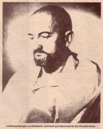 Lobsang Rampa Unitineraire Spirituel, Tuesday Lobsang Rampa
