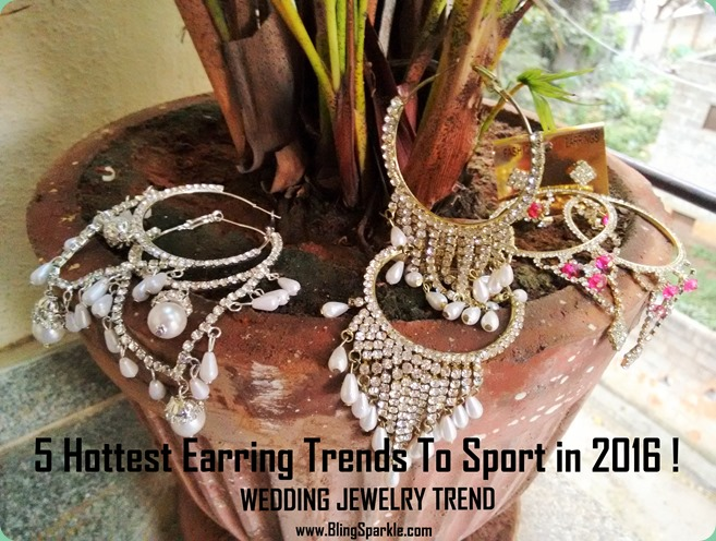 5  earring hottest trends