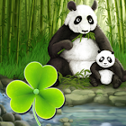 Theme panda GO Launcher EX icon