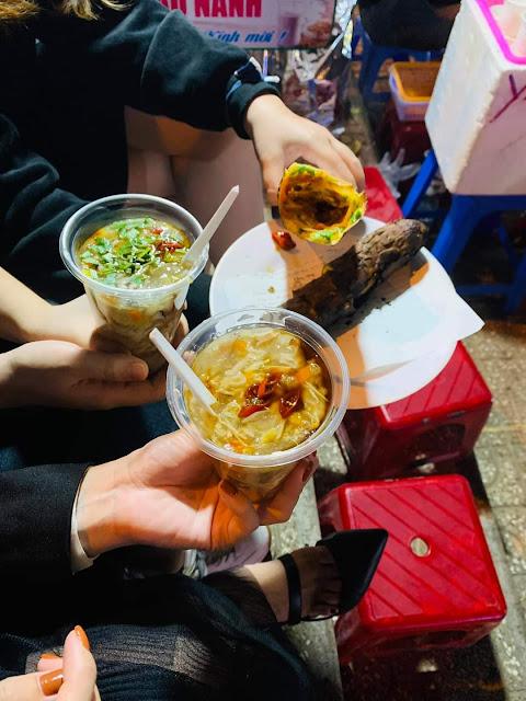 súp cua chợ Đà Lạt