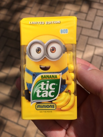 a review a day today s review banana tic tacs