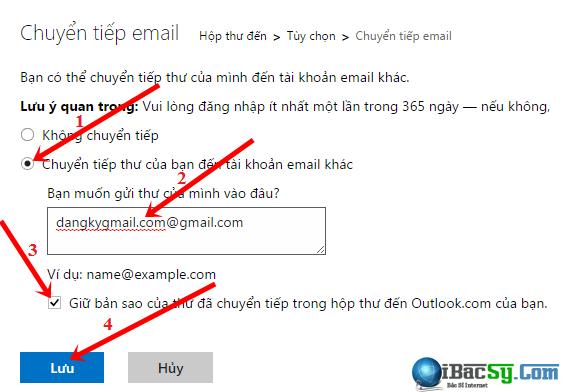 Hướng dẫn chuyển tiếp email từ Microsoft Mail sang Gmail + Hình 4