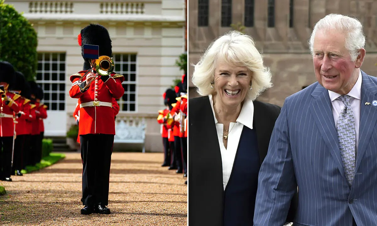 Prince Charles and Camilla Request Three Lions to be Played Outside Clarence House