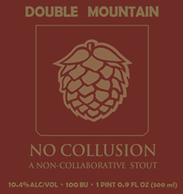 Double Mountain Brewery's No Collusion