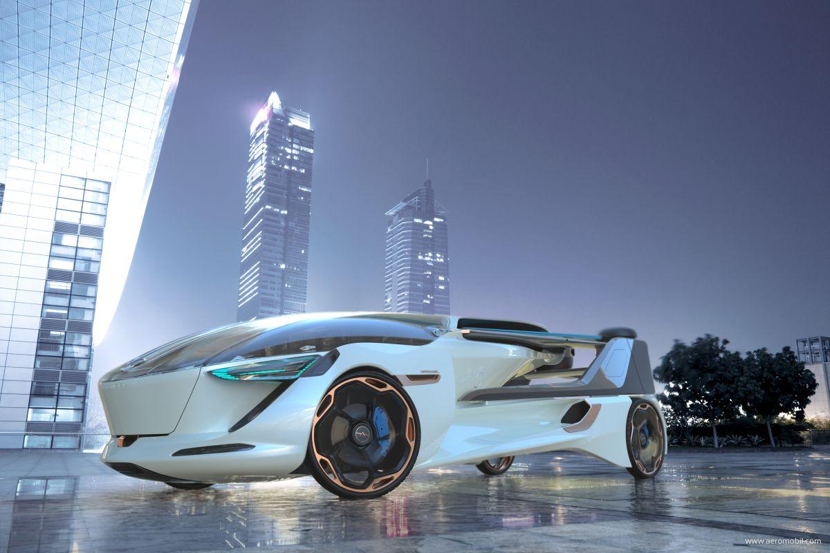 AeroMobil Presents 5.0 VTOL Concept