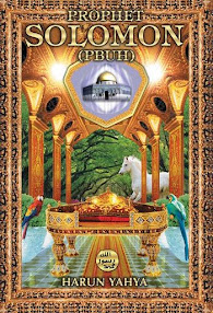 Cover of Harum Yahya's Book Prophet Solomon PBUH
