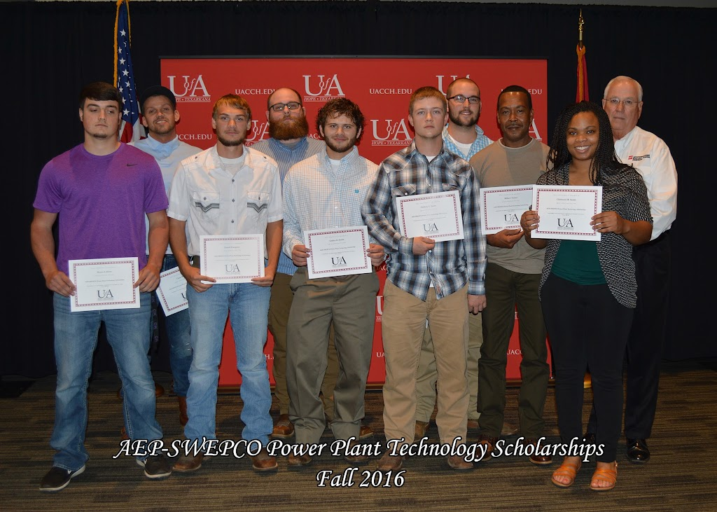 Fall 2016 Scholarship Ceremony - AEP-SWEPCO%2BPower%2BPlant%2BTechnology.jpg