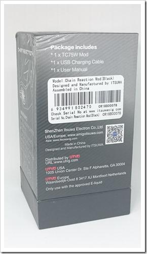DSC 3901 thumb%25255B2%25255D - 【MOD】「AMIGO ITSUWA CHAIN REACTION-II MOD」レビュー。かっこいいグリップのMOD【VAPE/電子タバコ】