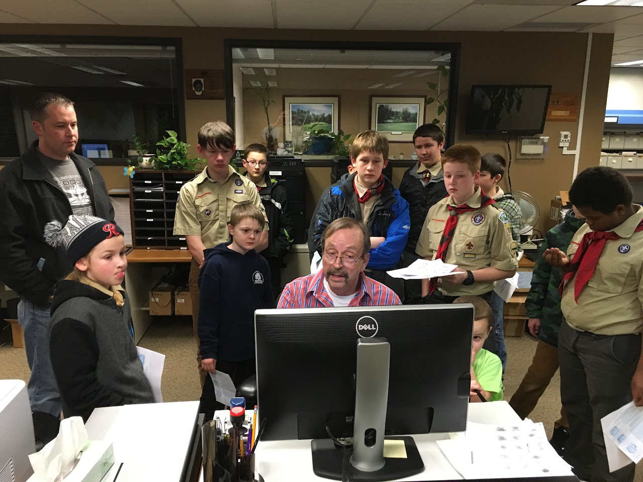 Fingerprinting Merit Badge - February 2016 - IMG_0874.JPG