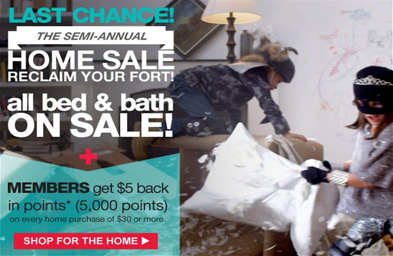 Kmart Semi Annual Home Sale