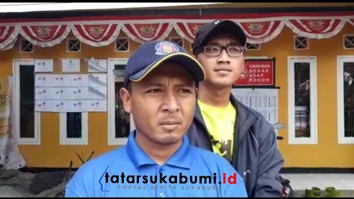 Tateng Sujana Kasi Pemerintahan Desa Cijambe Kecamatan Cikidang// Foto : Isep Panji (26/1/2019)