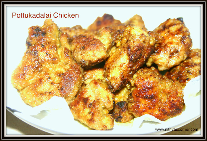 Pottukadalai Chicken