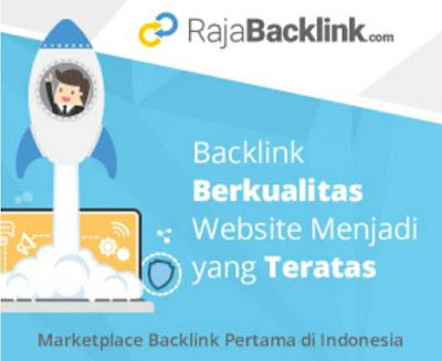 RajaBacklink, penghasilan tambahan untuk bloger
