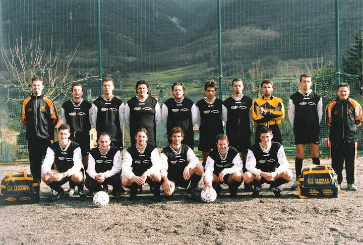 Foto scattata il 30 settembre 2000 sul campo sportivo di Spinone al Lago