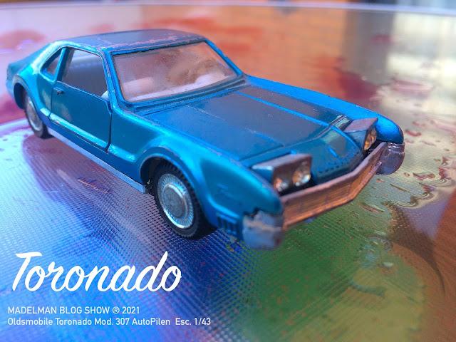 Oldsmobile Toronado Mod. 307 AutoPilen  Esc. 1/43