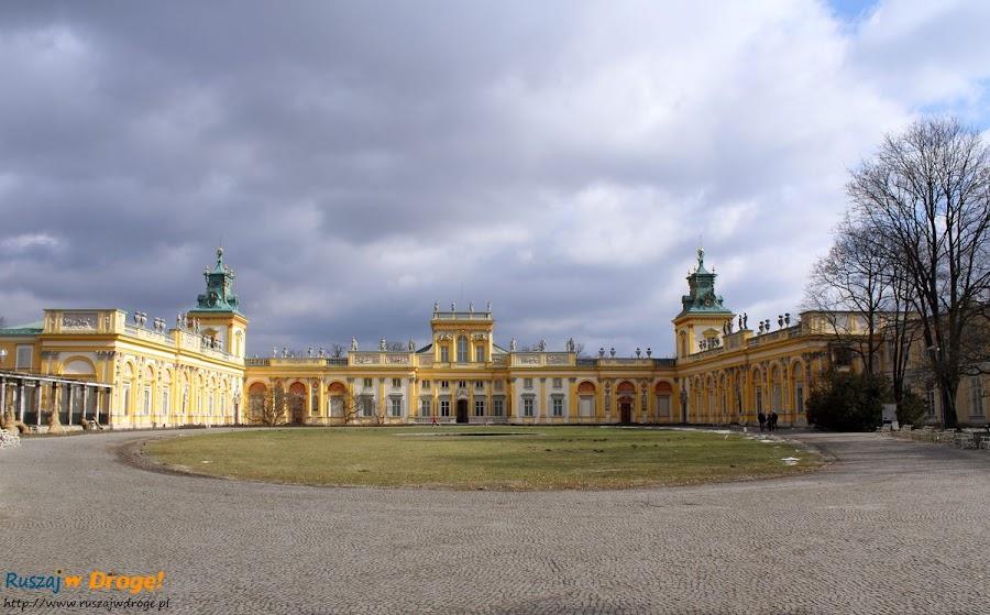 warszawa - pałac w wilanowie