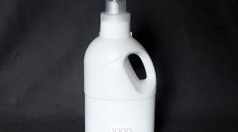 カインズ 詰め替えボトル ホワイト 計量キャップタイプ 1000ml