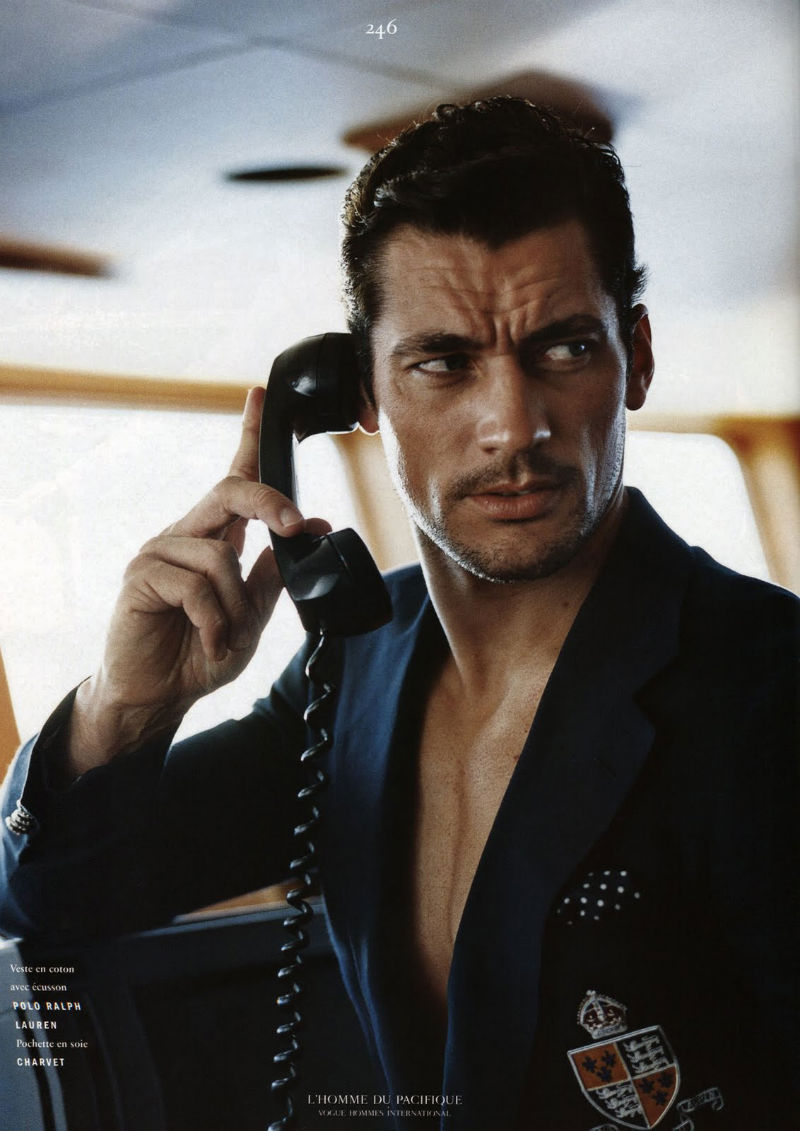 Syriously in Fashion: David Gandy for Vogue Hommes ...