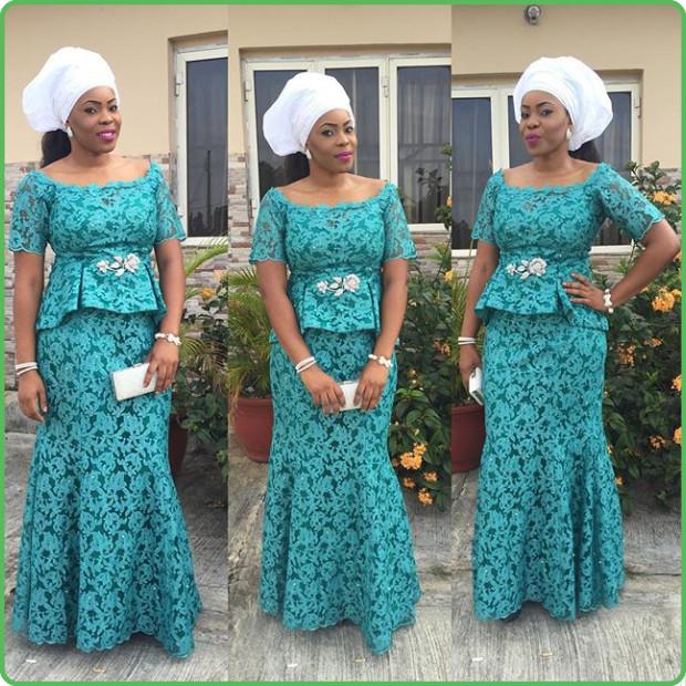 2017 ankara, lace and Aso ebi styles | Fashion Qe