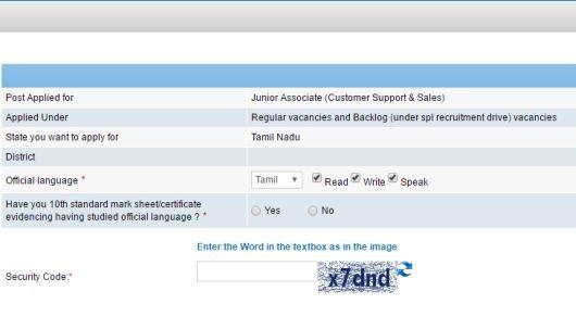 SBI-Official-Language