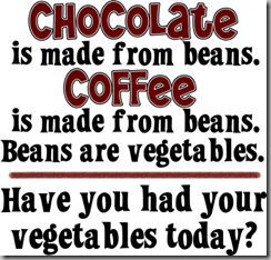 chocolate-coffee vegetables