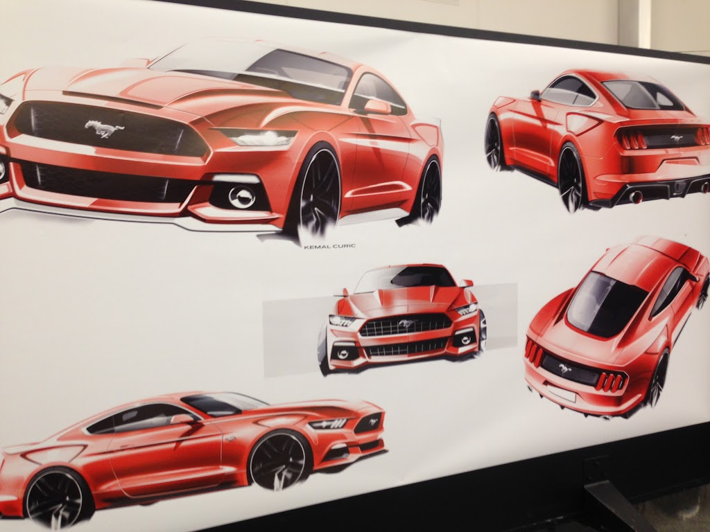 Ford Mustang Design Process - 11