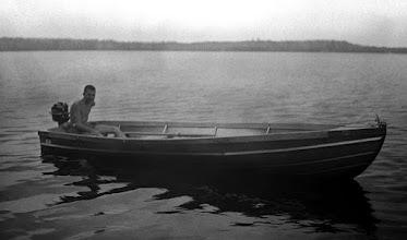 Photo: Pete - Big Fork Lake - 1961?