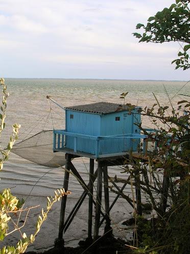 La pêche au carrelet, une technique très utilisée sur la côte atlantique