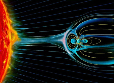 Spectacular magnetic pole reversal coming soon