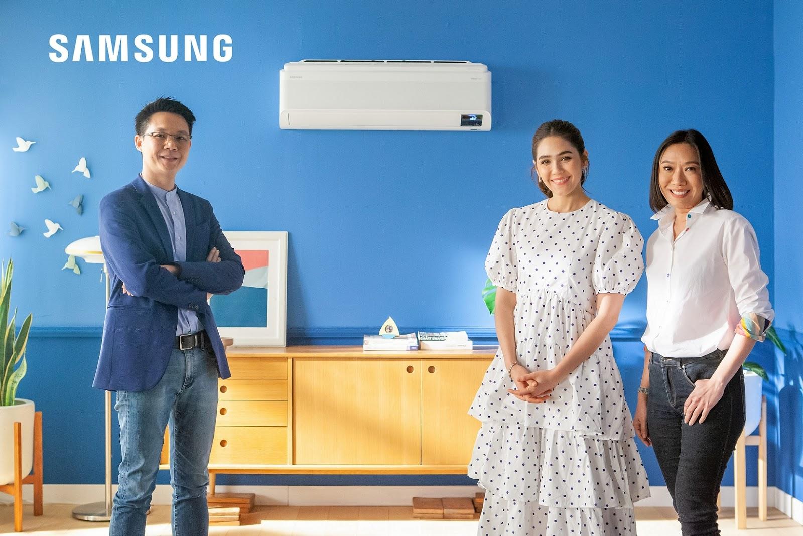 "Samsung รุกตลาดแอร์เพื่อสุขภาพ ชูเทคโนโลยี WindFree coolingดึง ""ชมพู่ อารยา"" เป็นพรีเซนเตอร์ เจาะตลาดครอบครัวยุคใหม่"