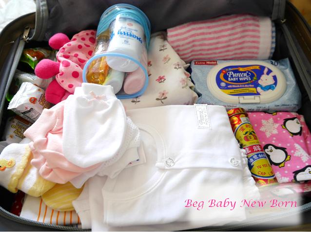 Check List Beg Hospital Untuk Ibu and Bayi