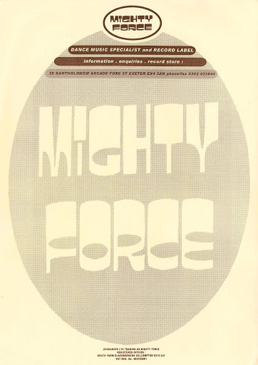 Mighty Force (store writing paper)