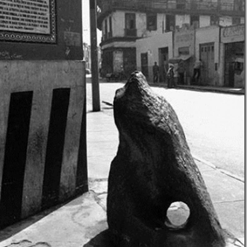 la misteriosa piedra del diablo Lima