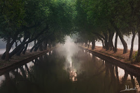Misty Lahore Canal