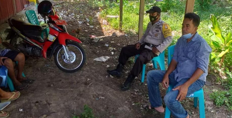 Bhabinkamtibmas Polsek Marioriawa Sambang Dialogis di Wilayah Binaan