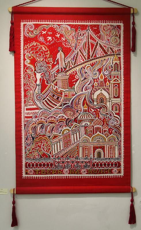 Выставка современной вышивки в твери