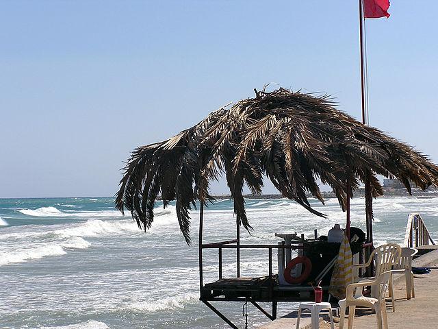 Playa en Kato Gouves, Creta (Grecia)