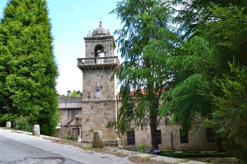 Numancia de Ares. Mosteiro de Santa Catalina (Montefaro).