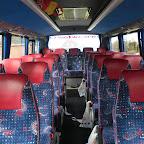 het interieur van de marcopolo van south west tours busje 21