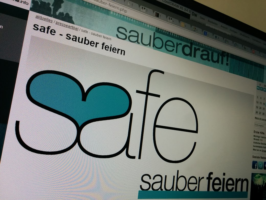 safe Logo in der mindzone website