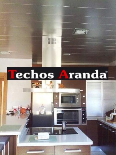 Techos aluminio Barrio de Salamanca