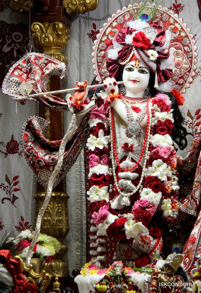 ISKCON Juhu Sringar Deity Darshan on 30th Sep 2016 (1)